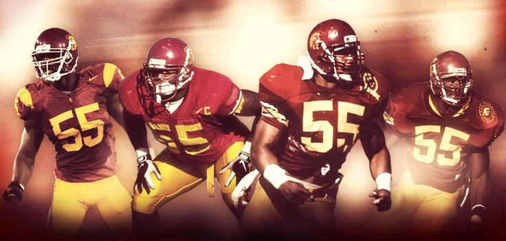 The reasons why #55 is such a legendary number at USC. Keith Rivers, Chris Claiborne, Junior Seau and Willie McGinest
