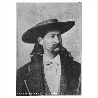 James Butler Hickok (May 27, 1837 – August 2, 1876), better known as Wild Bill Hickok, was a folk hero of the American Old West. His skills as a gunfighter and scout, along with his reputation as a lawman, provided the basis for his fame, although some of his exploits are fictionalized.