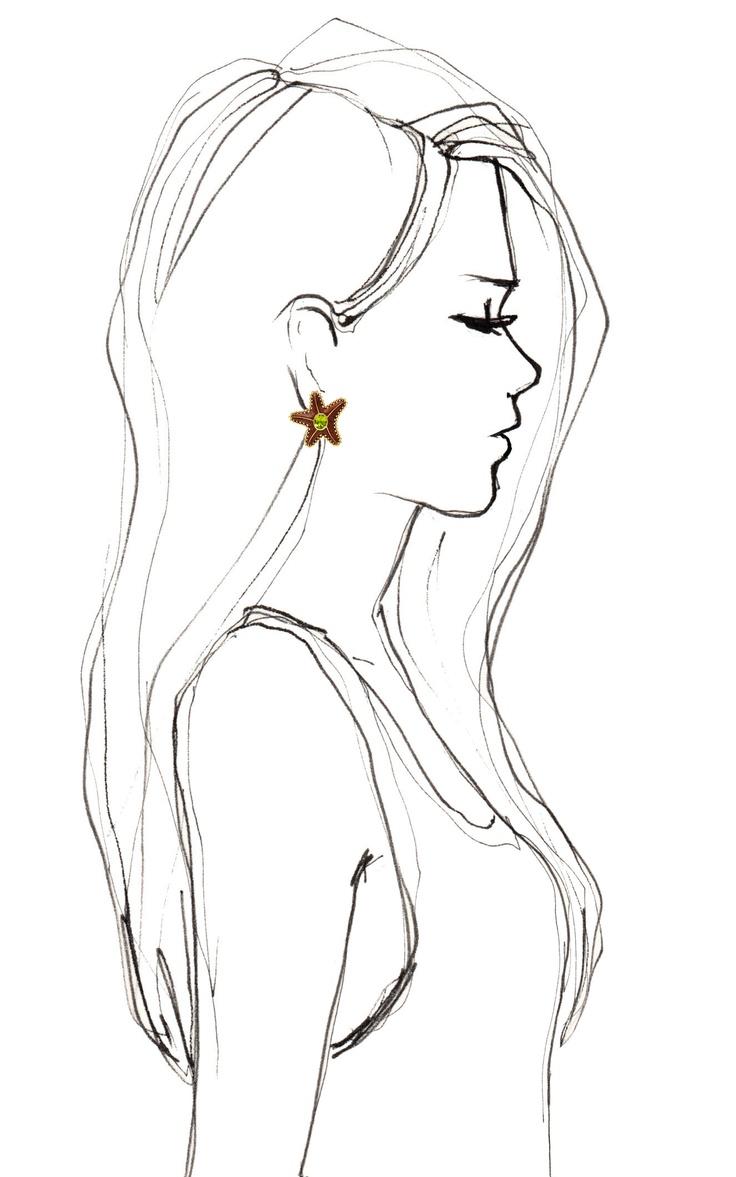 Starfish   Drawing   P...