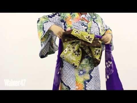 (2ページ目)和服LOVE❤現代風の可愛い帯の結び方を学んでお洒落に着こなそう♪|MARBLE [マーブル]