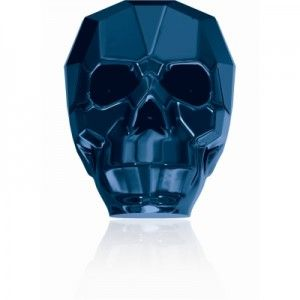 Crystal Metallic Blue 2x 5750 Skull Beads SWAROVSKI ELEMENTS  The New product from Swarovski Elements!