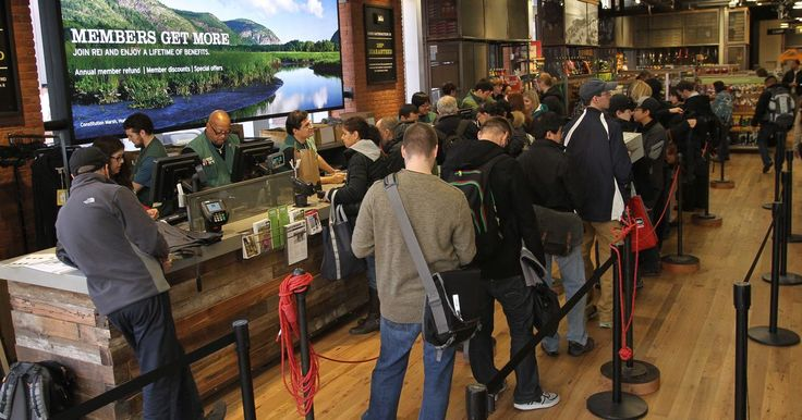 Good for you REI! Outdoor apparel and sporting goods retailer launching campaign called #OptOutside to encourage employees, customers to spend time outdoors on Black Friday.