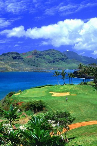 3rd Hole Luana Hills Golf Course, Oahu, Hawaii. I want to go here!!!