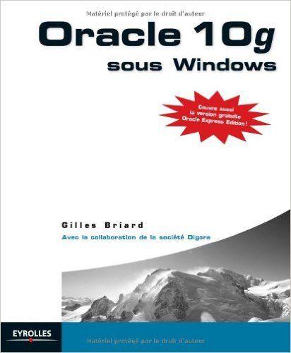 Gilles Briard - Oracle 10g sous Windows