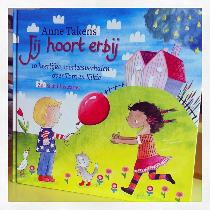 Het prentenboek 'Jij hoort erbij' van Anne Takens... Geïllustreerd door Zusenik.