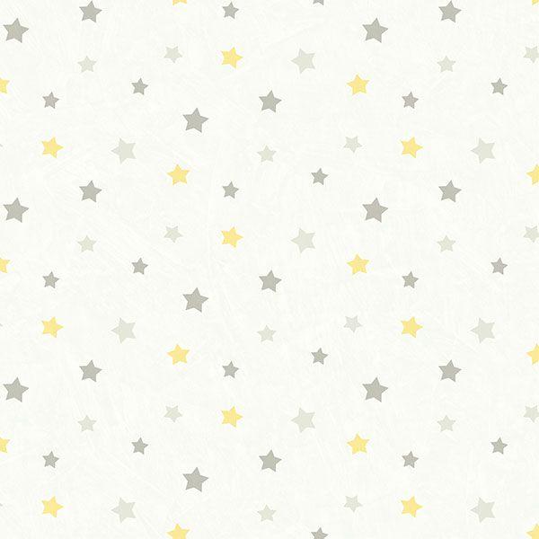 HAS01321 Grey Dancing Stars - Yoni - Hide and Seek Wallpaper by Chesapeake