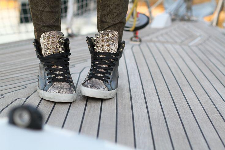 sneakers borchiate
