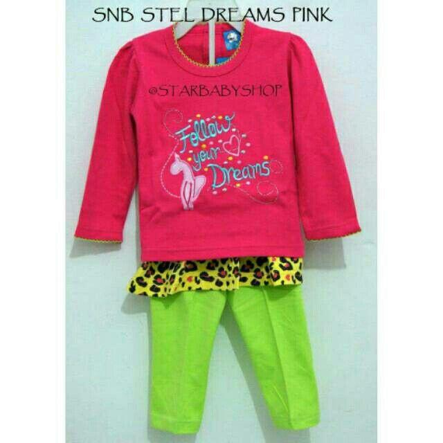 Saya menjual Setelan Kaos Celana Anak Perempuan Dreams - Sale !! seharga Rp70.000. Dapatkan produk ini hanya di Shopee! https://shopee.co.id/starbabyshop/22044299 #ShopeeID