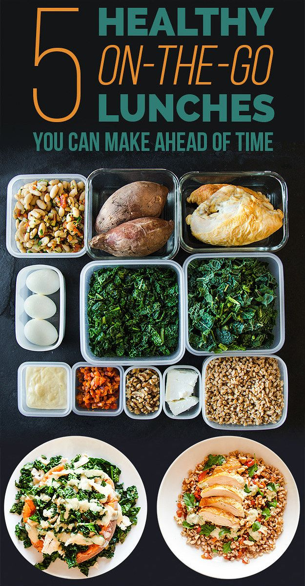 How To Pack 5 Make-Ahead Healthy Lunches