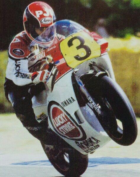 Randy Mamola Yamaha YZR500 87