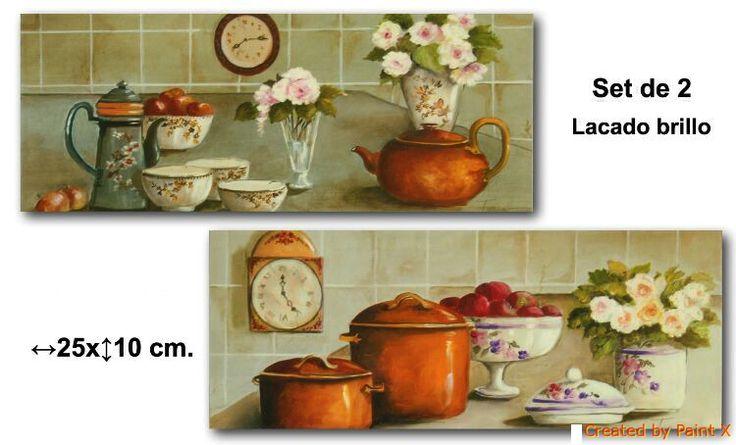 1000 images about cuadros de cocina on pinterest - Cuadros cocina vintage ...