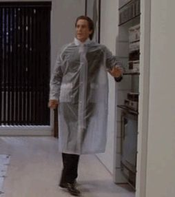 The 121 Best Dancing GIFs of All Time! from GifGuide Christian Bale - American Psycho.
