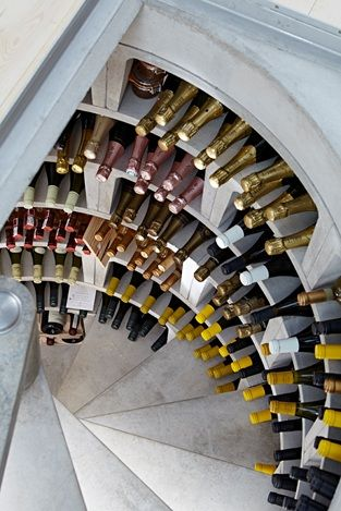 Where to put the wine? Problem solved!