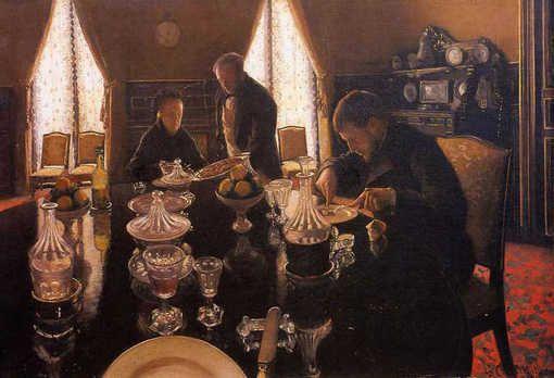 Gustave Caillebotte - Le déjeuner (1876)