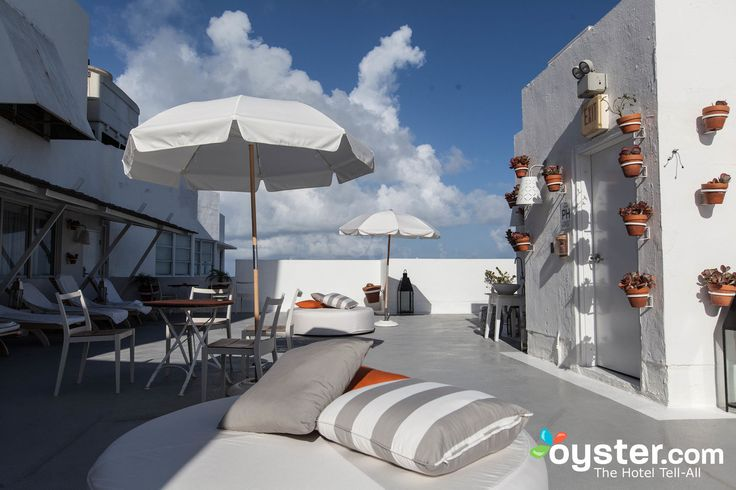 Rooftop Solarium at the Delano South Beach Hotel