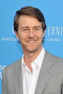 Edward Norton. Edward was born on 18-8-1969 in Boston, Massachusetts, USA as Edward Harrison Norton. He is an actor, known for Fight Club (1999), American History X (1998), The Incredible Hulk (2008), and The Illusionist (2006).