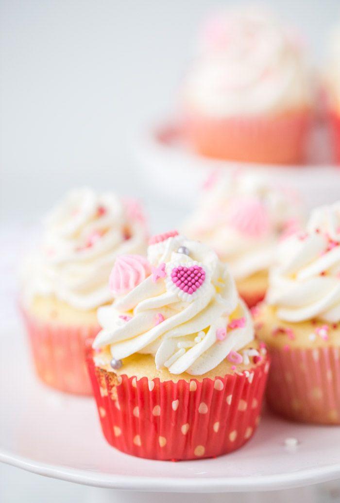 Vanilla Bean Buttermilk Cupcakes Recipe Buttermilk Cupcakes Valentines Recipes Desserts Desserts