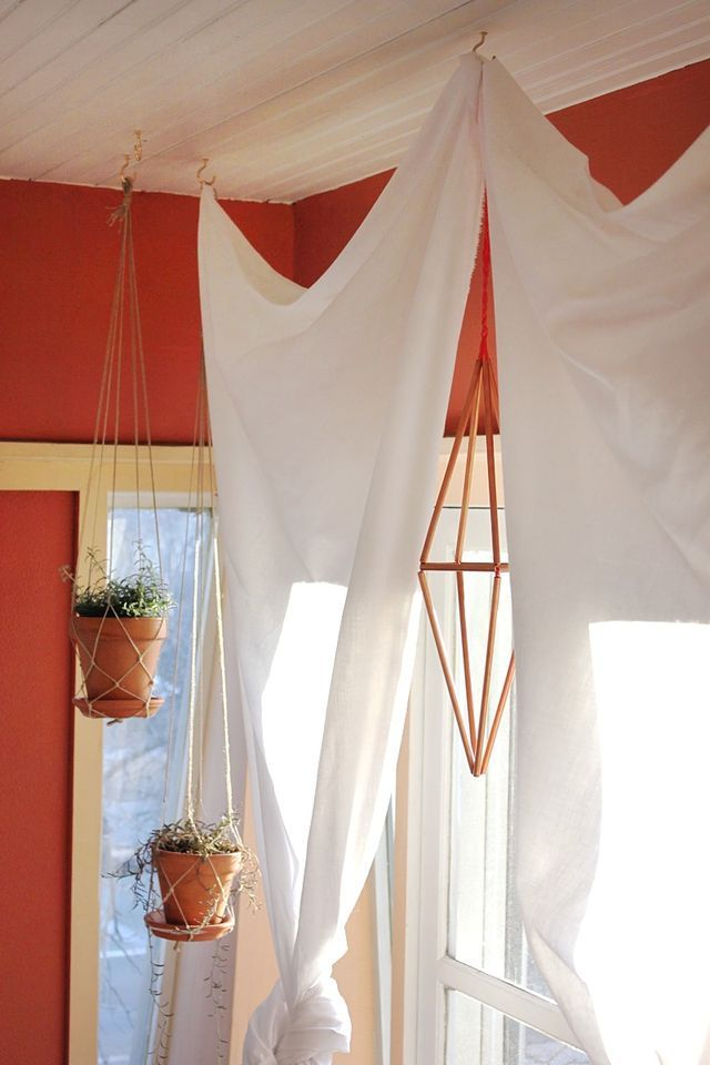 40 Projects Just For Fun: Copper Himmeli DIY - Smile And Wave