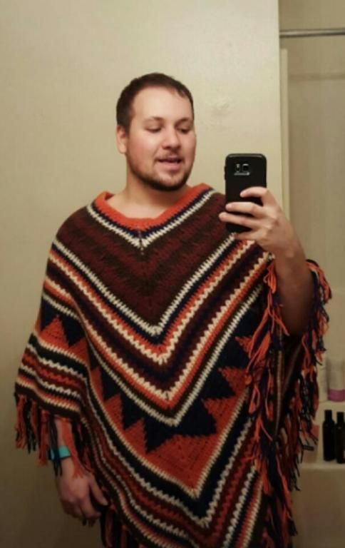You Have To See Mexican Poncho By Yarn Bite Crochet