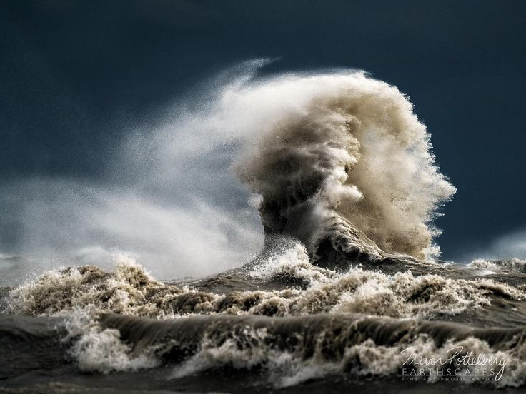 Happy Monday Folks!  My latest release is titled Detonation - Order 636 - photographed in Port Stanley Ontario Canada - featuring a massive wave exploding out of the murky depths of Lake Erie during the passage of an arctic cold front.  Please feel free to share with others who may enjoy this artwork.  I may be adding this one to my limited edition line up meaning only 10 pieces will ever be produced.  Once I make my decision I will let you guys know. Cheers!