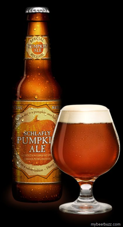 Schlafly Pumpkin Ale. I love pumpkin ale. I need to find this.