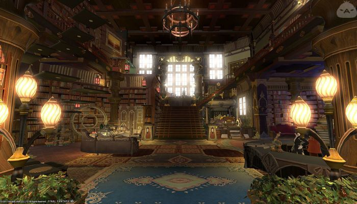 Grandiose mansion opening | FFXIV Housing Inspiration in