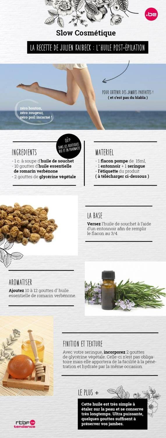 DIY Beauté : Comment préparer son huile post-épilation soi-même ? - RTBF Tendance