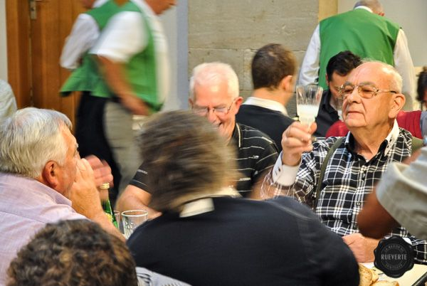 Absinthiades 2013, Pontarlier, France. The jury during the absinthe tasting.