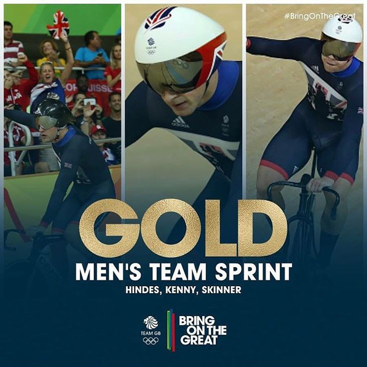 42.440 - you HEROES!!! First GOLD in Olympic Velodrome and the crowd have gone…