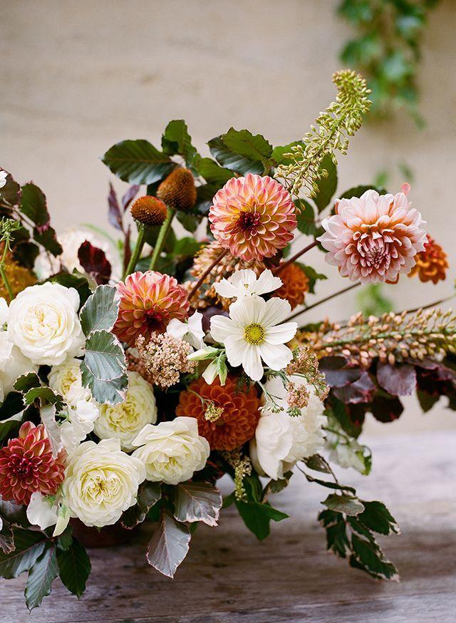 Cosmos, Peony, and Dahlia's - June Seasonal Flowers Snippet & Ink. Loop Flowers + Christina McNeill.