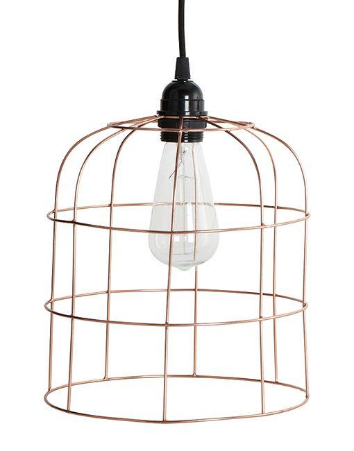 Lampenschirm aus Kupferdraht von House Doctor