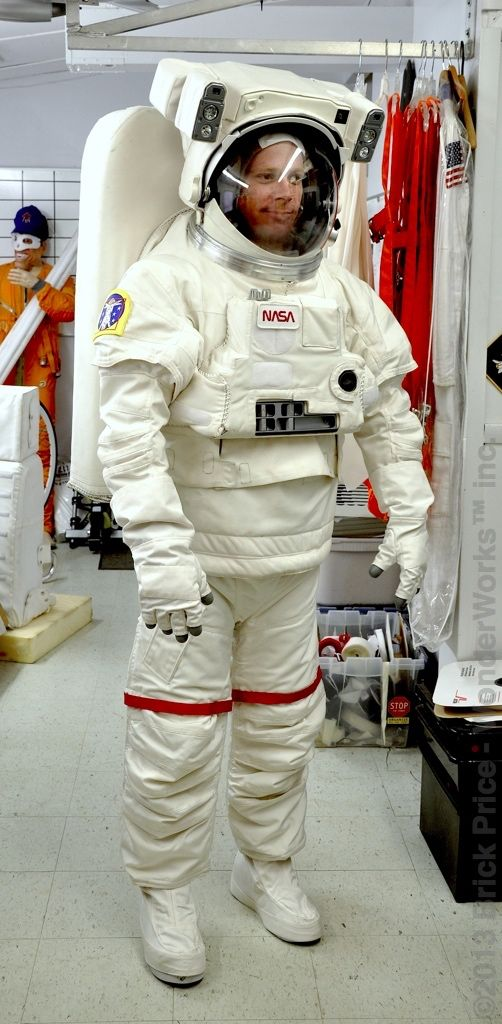 Space Suit Costume diy replica