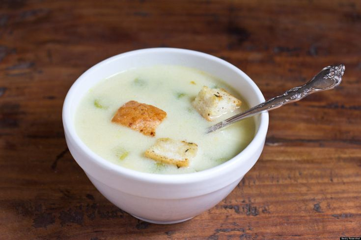 Lemon Chicken And Rice Soup With Asparagus