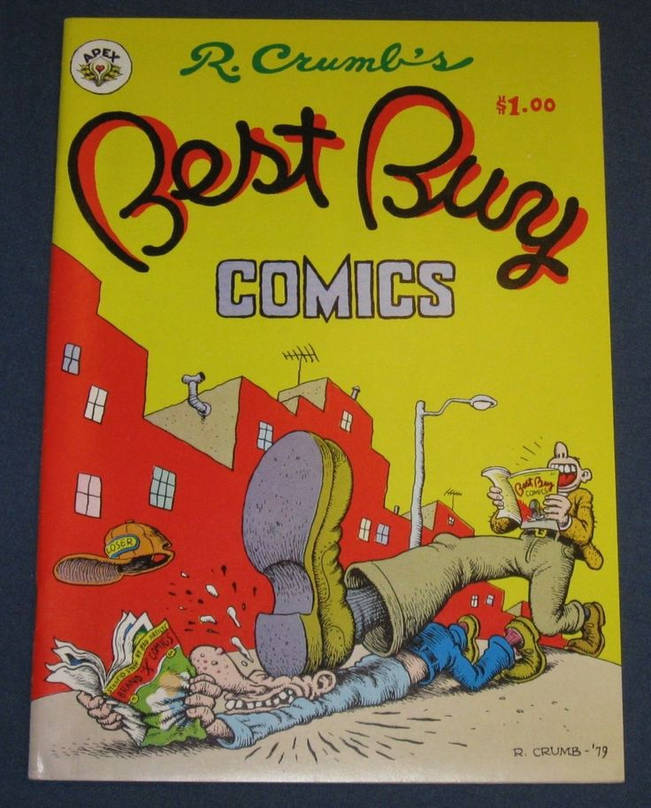 Best Buy Comics underground Comix R Crumb 1ST Printing 1979 | eBay