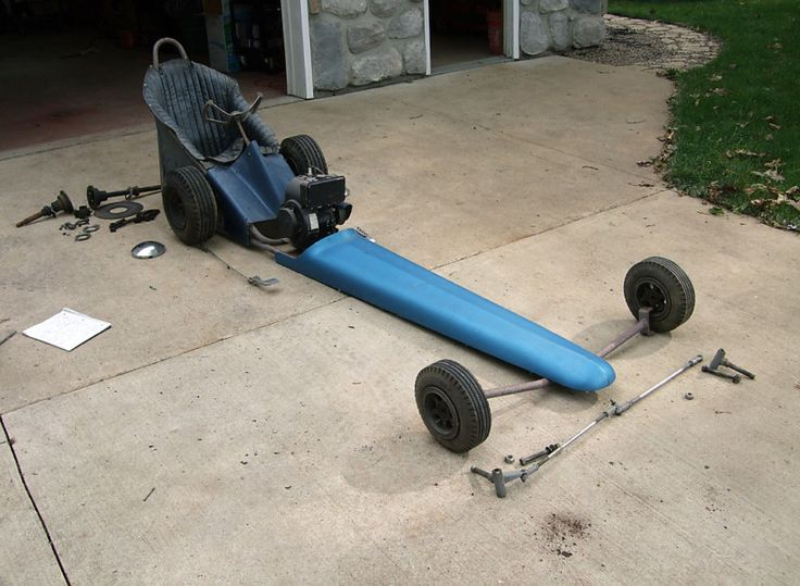 Front Engine Jr Dragster Vintage Style The H A M B