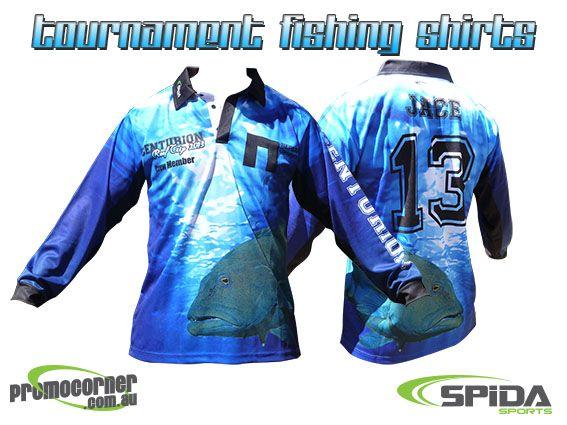 Tournament Fishing Shirts http://promocorner.com.au/sublimated-fishing-shirts/