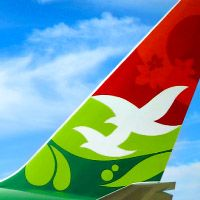 """Air Seychelles is the national airline of the Republic of Seychelles, literally a thousand miles from everywhere, in the center of the India Ocean. With the imminent delivery of new Boeing 787s to augment their fleet, Turnstyle collaborated with Teague to evolve the 25-year-old Air Seychelles identity and reinvigorate their brand. The identity supports their tagline—""""Flying the Creole Spirit""""—by highlighting the Seychelles' unique cultural attractions."""