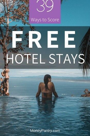 39 Ways to Get Free Hotel Night Stays (Birthday Vouchers