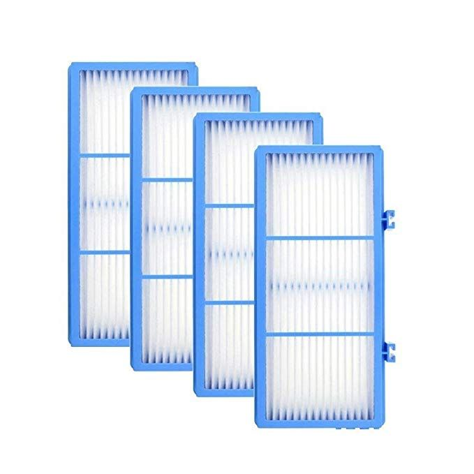 Derblue 4pcs Replacement Hepa Filters For Holmes Aer1 Hepa Type