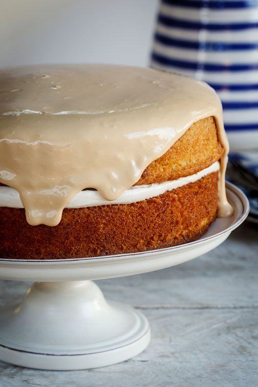 Not a sponge: this is a  wet butter cake