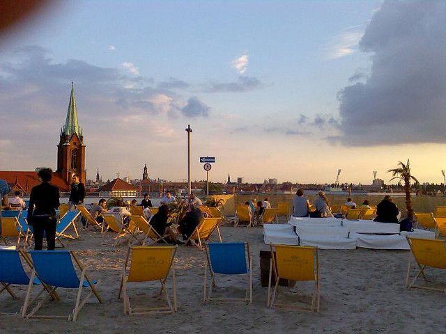 Deck 5 - Rooftop Beach Bar, Berlin - Beach+Panorama | par photokarin