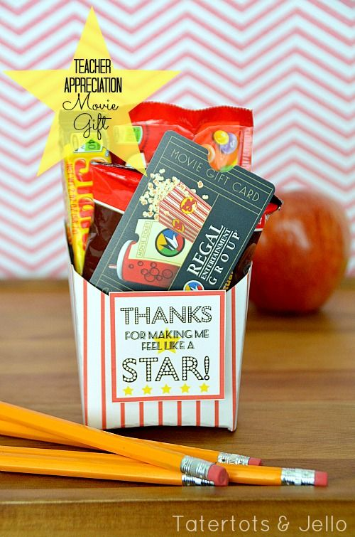 I've just shared a fun printable idea on my blog —   Try these fun printables — easy to add a gift card from a local theater and some theater-sized snacks!