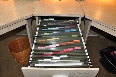 A Craft Paper Storage