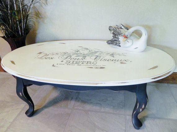 Coffee Table Makeover Stencil