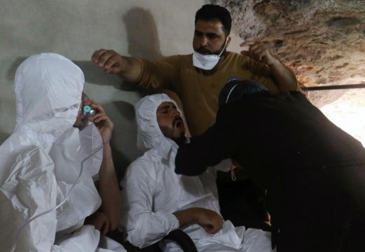 The world's chemical weapons watchdog said the banned nerve agent sarin was used in an attack in northern Syria in April that killed dozens of people, a report from a fact-finding team seen by Reuters on Thursday showed.