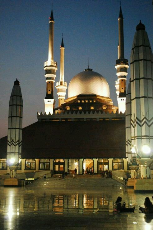 Dian Al-Mahri Mosque in Depok, East Java, Indonesia