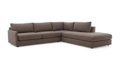 Maximize your space with a high-quality sectional sofa from Crate and Barrel. Browse sectionals in fabric and leather. Order sectional sofas online.