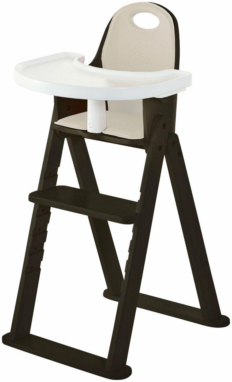 Svan High Chair Espresso - Salt water the original sandal blue navy 3 almonds babies and cushions
