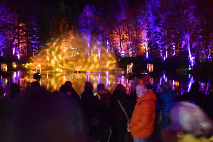 The enchanted forest Pitlochry. travel in scotland