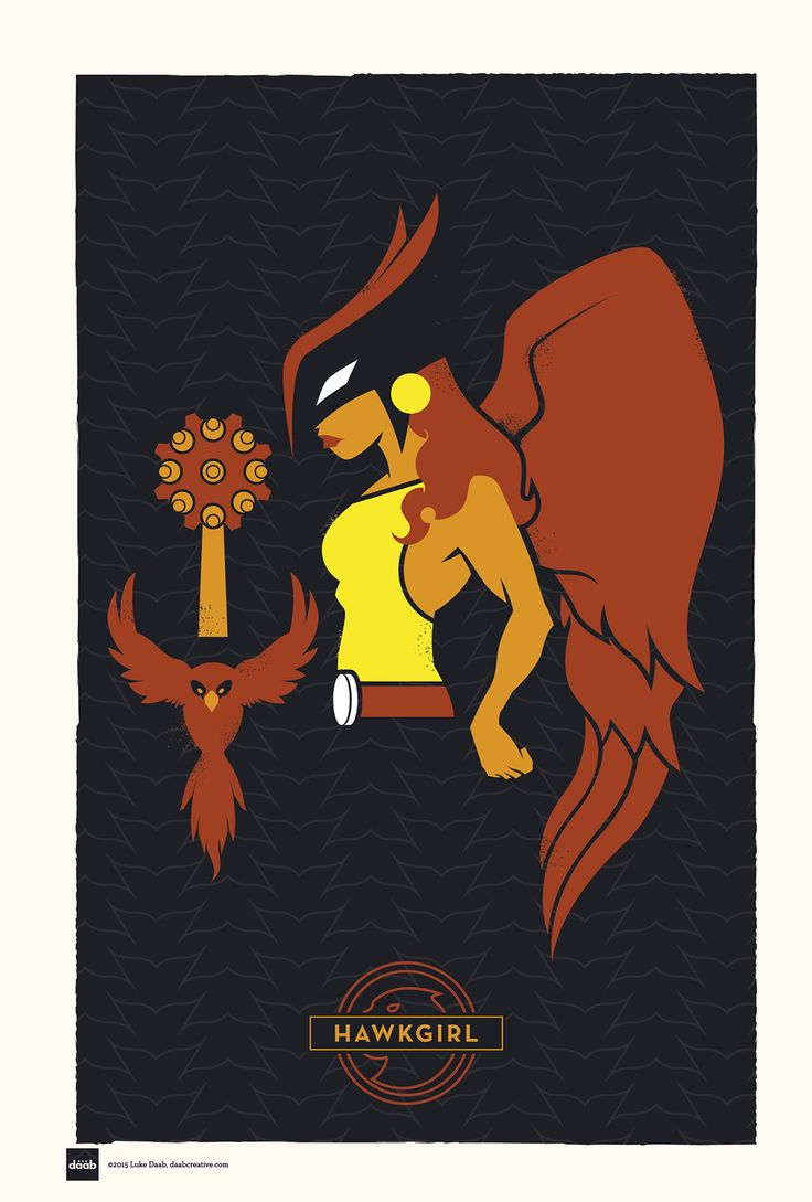 DC Superhero Profiles: Hawkgirl on Behance